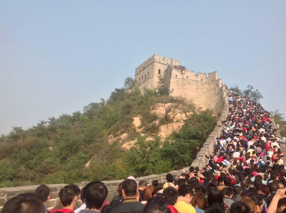 混乱の万里の長城