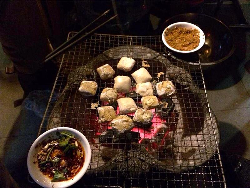 焼き 臭豆腐