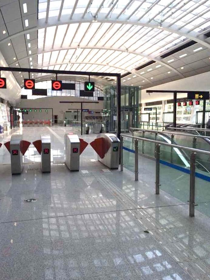 昆明地下鉄駅